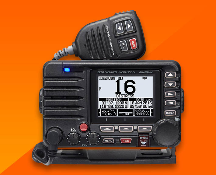 Standard Horizon GX-6500E VHF with built in AIS Transponder